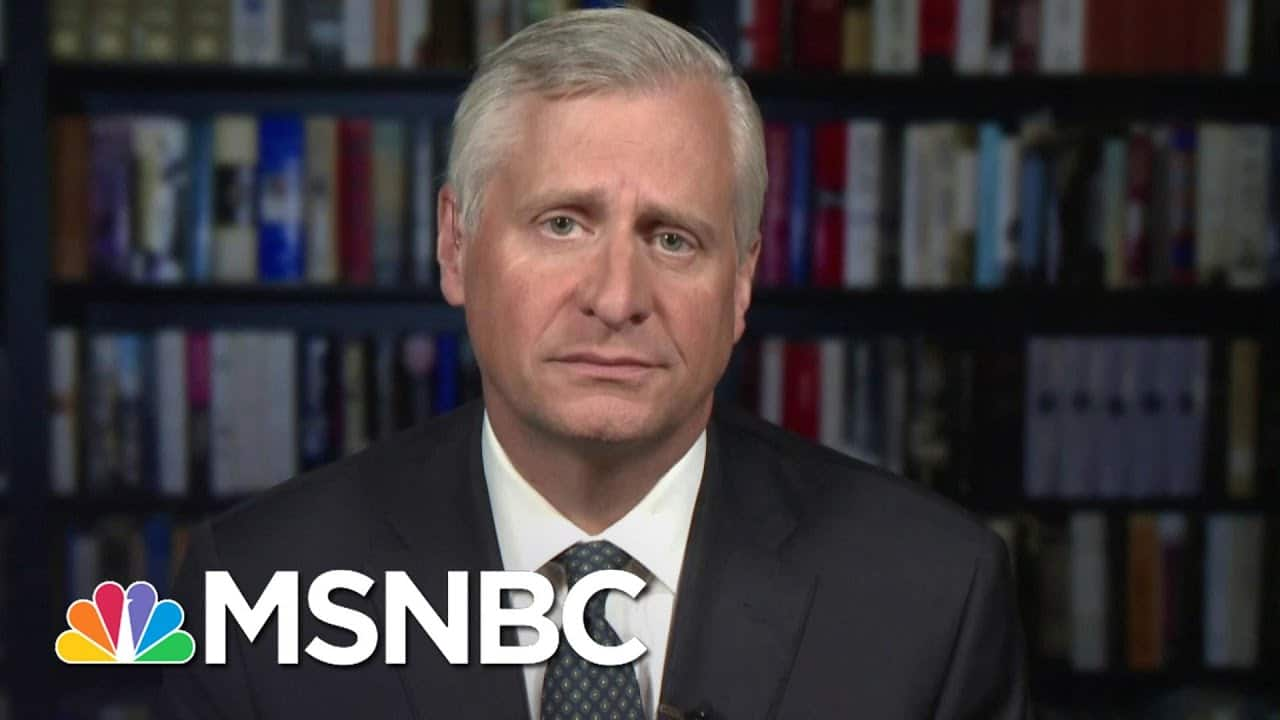 Jon Meacham: History Says To Treat Medical Reports From The WH As 'Incomplete' At Best | MSNBC 1