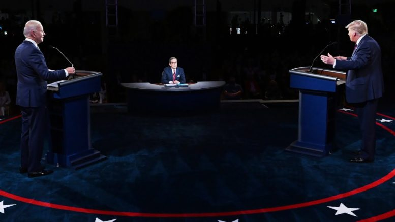 Here's what you need to know before Trump and Biden's final debate 1
