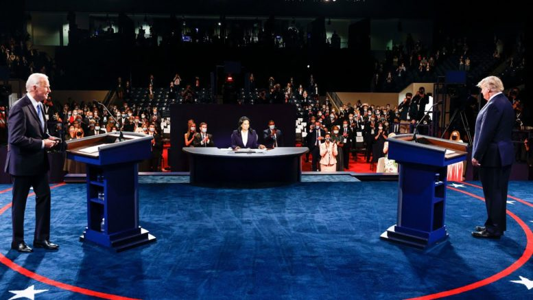 Trump and Biden faceoff over the U.S. COVID-19 response and surging death toll 1