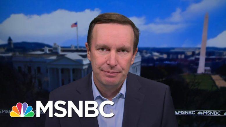 Sen. Murphy Calls For Coronavirus Testing Protocol On Capitol Hill | Katy Tur | MSNBC 1