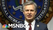 Briefing On Iran And Russia Election Meddling Raises Questions | The 11th Hour | MSNBC 3