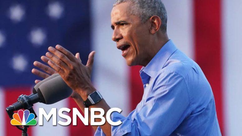 Obama Slams Trump's Handling Of Coronavirus | Morning Joe | MSNBC 1