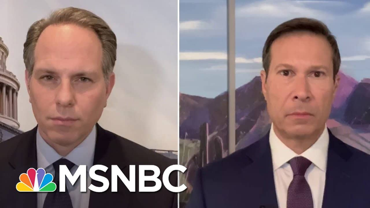 Bash And Figliuzzi On Iran & Russia Seeking To Influence 2020 Election | Andrea Mitchell | MSNBC 1
