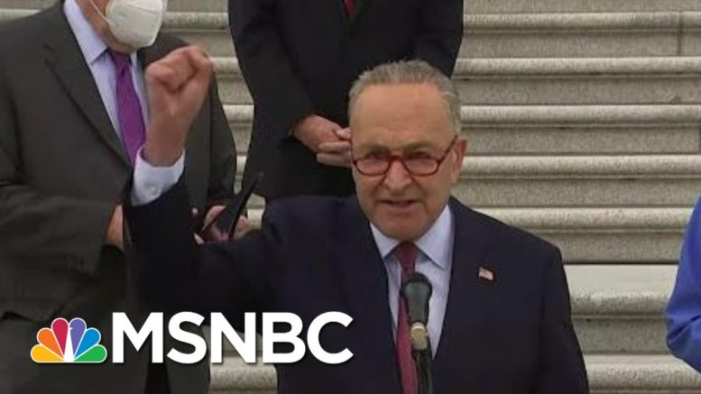 As Trump Implodes, Top Dem Schumer Preps 'Aggressive' Plan To Thwart Stealing The Race 1