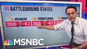 Kornacki Breaks Down Where Things Stand In Battleground States Heading Into Final Debate | MSNBC 3