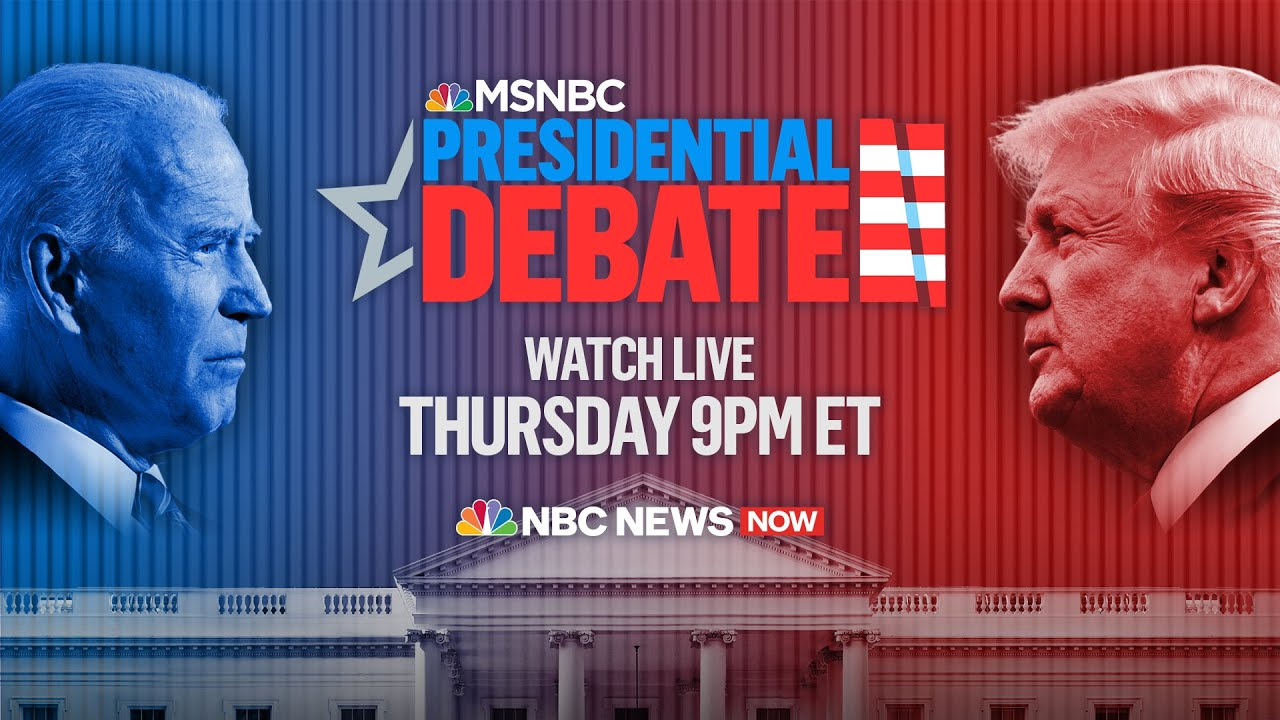 Watch Live: Final Presidential Debate Of The 2020 Election | MSNBC 4