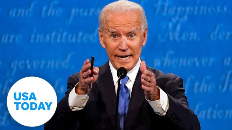 Biden slams Trump's COVID-19 response at debate: 'People are learning to die with it' | USA TODAY 1