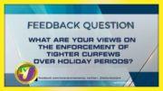 TVJ News: Feedback Question - October 20 2020 5