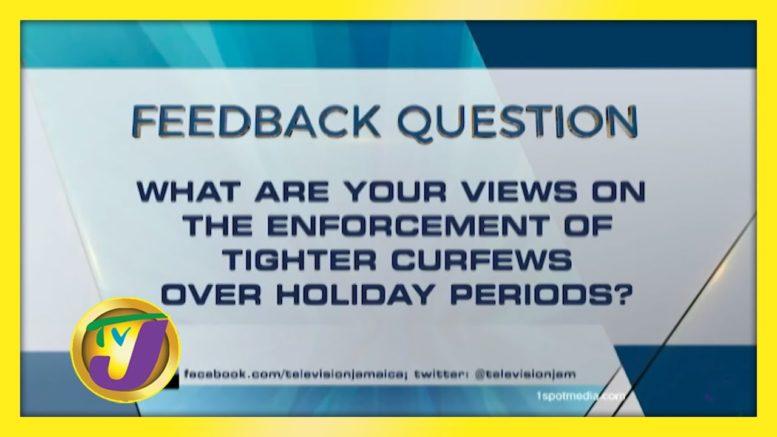 TVJ News: Feedback Question - October 20 2020 1