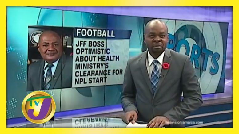 Health Ministry Gives JFF Reason to Smile - October 20 2020 1