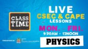 CSEC Physics 9:45AM-10:25AM | Educating a Nation - October 22 2020 5