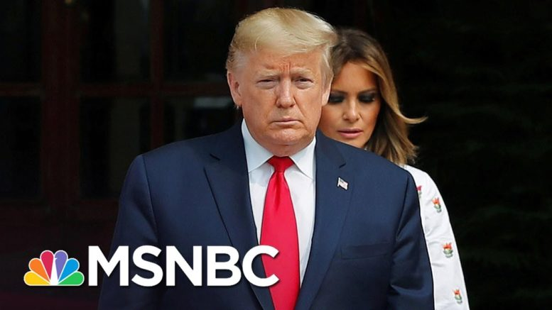Trump Will Head To Walter Reed Medical Center As A Precautionary Measure | Deadline | MSNBC 1