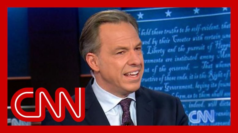 So disgusting: Jake Tapper slams Trump campaign attacks 1
