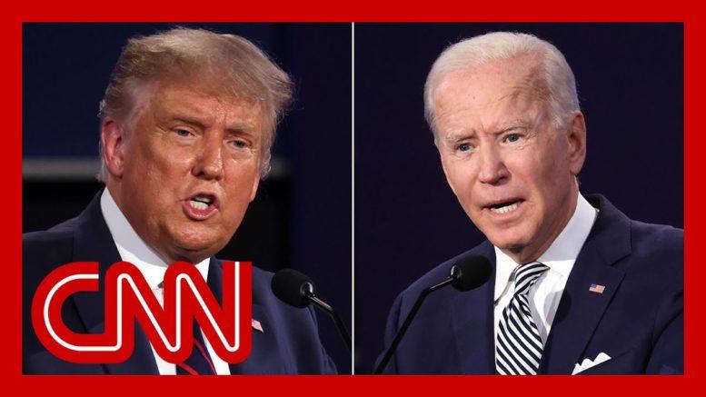 Livestream: The final 2020 presidential debate on CNN 1