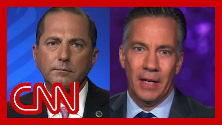 Alex Azar clashes with Jim Sciutto over pandemic response 1