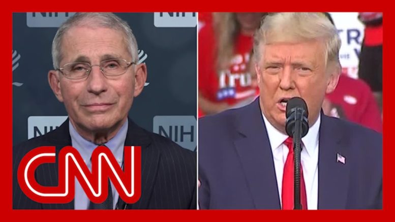 Dr. Fauci responds to President Trump's latest attack 1