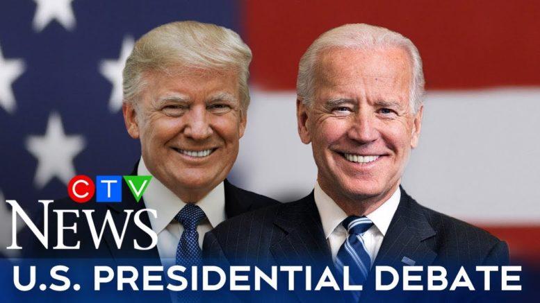 Watch the final presidential debate between Trump and Biden 1