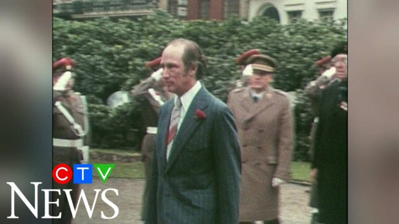 PM Pierre Trudeau's 1974 trip to Belgium 1