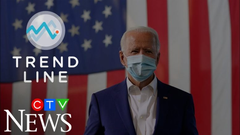 TREND LINE: Biden is widening his polling lead over Trump, but here's why that might not last 1