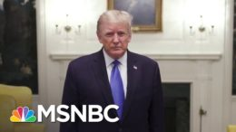 Trump Tweets Video Of Thanks Before Flight To Walter Reed | MSNBC 9
