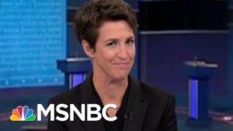Trump Presents Range Of Falsehoods And Lies About Covid In Debate   Rachel Maddow   MSNBC 4