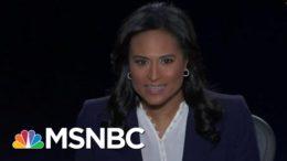 Maddow: Kristen Welker A Clear Winner In Managing Debate   MSNBC 3