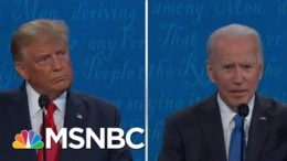 McCaskill: Trump Lied, Biden Talked To Voters In Final Debate | The 11th Hour | MSNBC 8