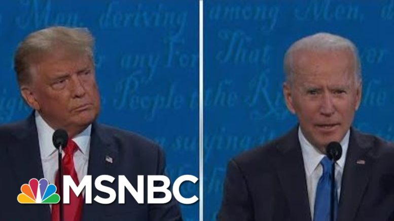 McCaskill: Trump Lied, Biden Talked To Voters In Final Debate | The 11th Hour | MSNBC 1