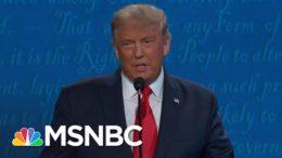 Vin Gupta Fact Checks Trump's Debate Claims On Covid-19   The 11th Hour   MSNBC 9