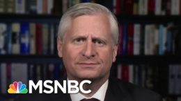 Meacham: Biden's Running For President, Trump's Auditioning For FOX News   The 11th Hour   MSNBC 8