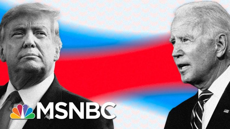 Crashing In Polls, Trump Pushes False Claims And Gets Fact-Checked On Live TV | MSNBC 1