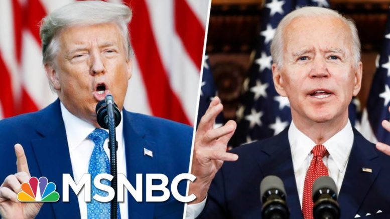 What To Expect From Biden, Trump In Final Week | Morning Joe | MSNBC 1
