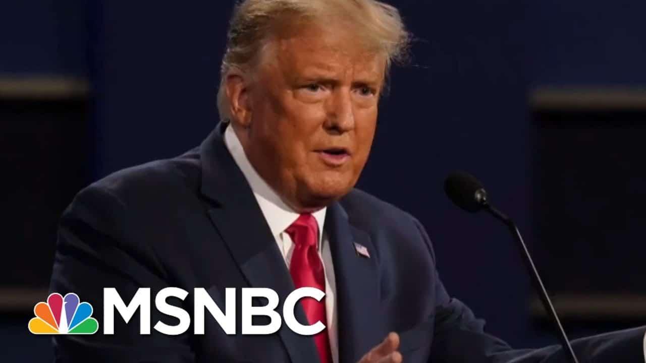 Trump And Biden Clash In Final Presidential Debate | Morning Joe | MSNBC 2