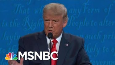 Fact-Checking Trump & Biden's Claims On Health Care During The Final Debate | Hallie Jackson | MSNBC 6