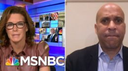 Sen. Booker Reacts To Trump Touting His Record On Race | Stephanie Ruhle | MSNBC 1