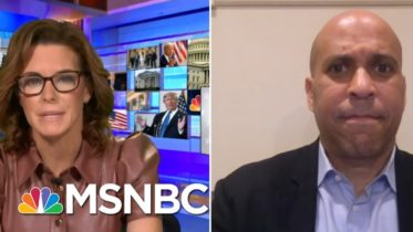 Sen. Booker Reacts To Trump Touting His Record On Race | Stephanie Ruhle | MSNBC 6