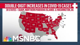 Fact-Checking Trump's Claim That U.S. Is 'Rounding The Corner' On COVID-19 | Andrea Mitchell | MSNBC 7