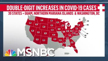 Fact-Checking Trump's Claim That U.S. Is 'Rounding The Corner' On COVID-19   Andrea Mitchell   MSNBC 6