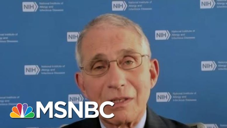 Dr. Fauci: 77,000 New Covid-19 Cases A Day Is 'A Precarious Place To Be' For The U.S. | MTP Daily 1
