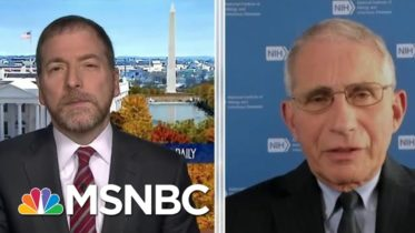 Dr. Fauci: Widespread Vaccine Distribution Likely 'Several Months Into 2021' | MTP Daily | MSNBC 6