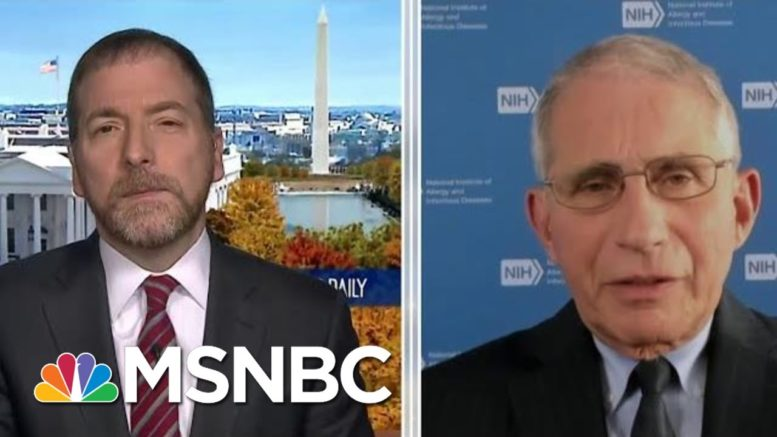 Dr. Fauci: Widespread Vaccine Distribution Likely 'Several Months Into 2021' | MTP Daily | MSNBC 1