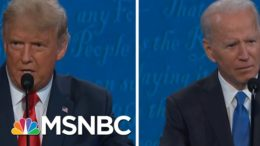 Trump & Biden Enter Final Stretch After Debate That Lacked A 'Game Changing Moment' | MSNBC 4