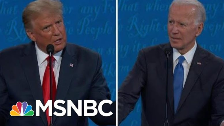 Fact-Checking Key Moments On Immigration From Final 2020 Debate | Hallie Jackson | MSNBC 1