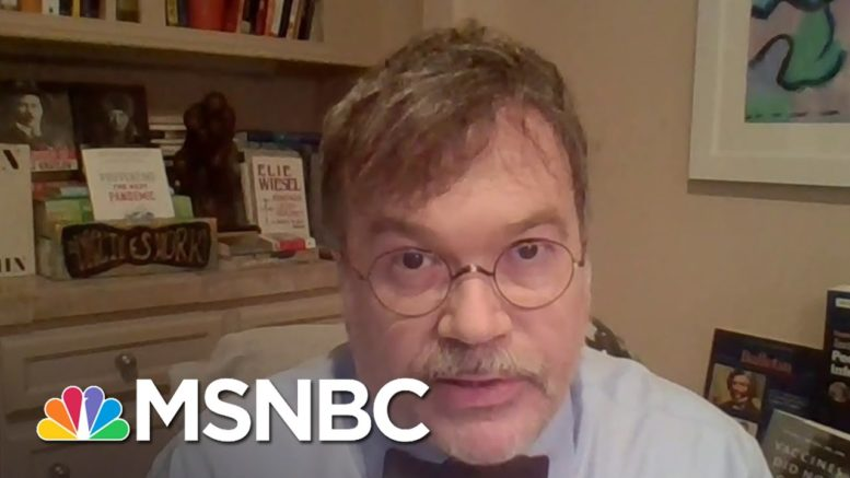 Dr. Hoetz Believes 488,000 Americans Could Be Lost By February 1st | Deadline | MSNBC 1