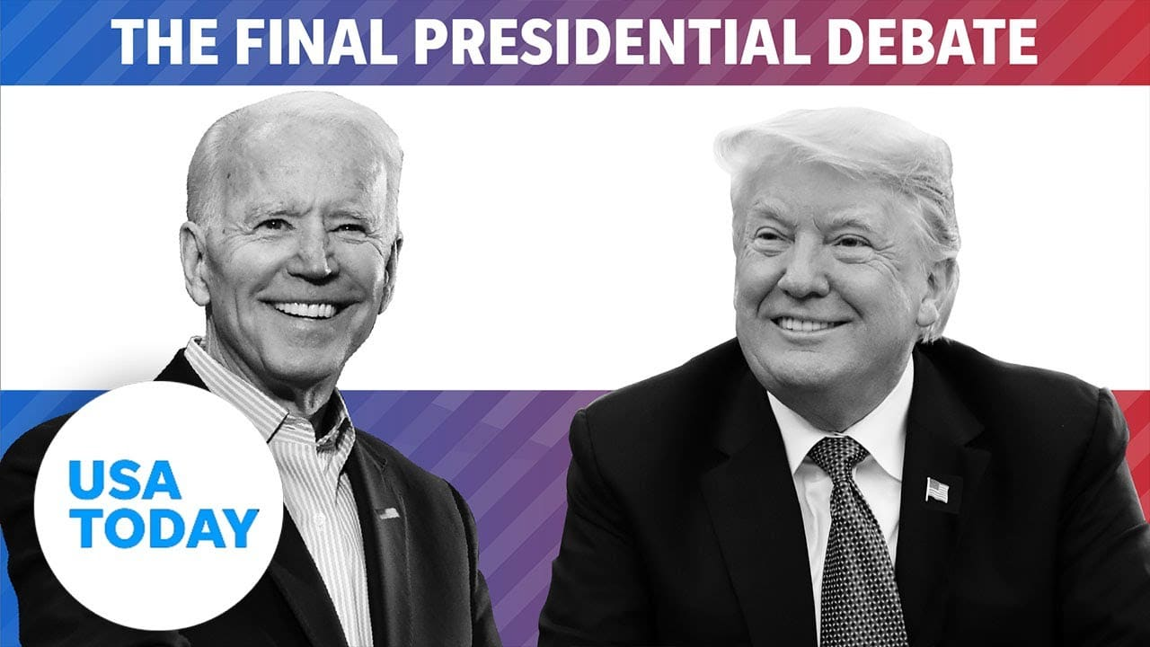 Final Presidential Debate 2020: Trump and Biden face off at Belmont University (LIVE)   USA TODAY 4