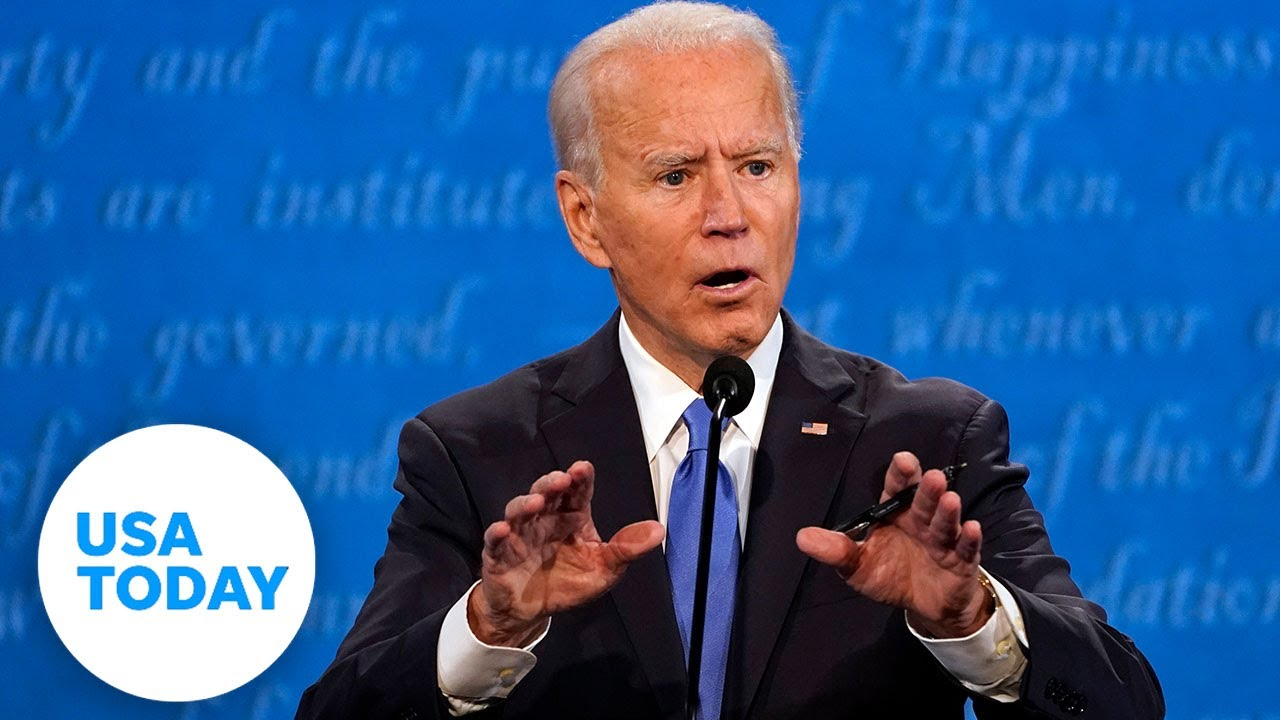 Biden at final presidential debate: Trump is among 'most racist presidents'   USA TODAY 3
