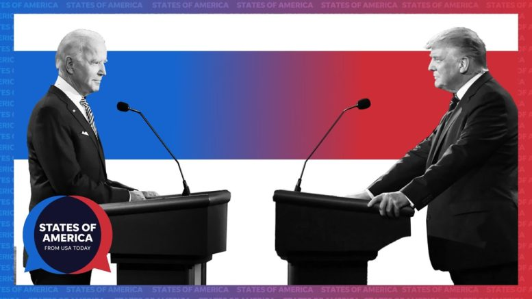 Debate recap: Battleground states take center stage between Trump and Biden | States of America 1