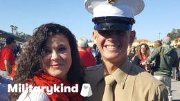 Marine crashes bridal shower and makes bride cry | Militarykind 2