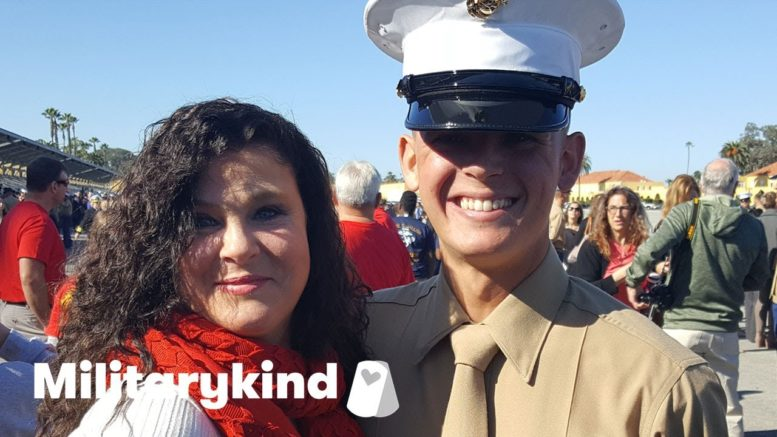 Marine crashes bridal shower and makes bride cry | Militarykind 1