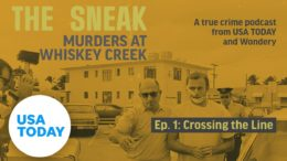 """The Sneak: A True Crime Podcast – """"Crossing the Line""""   USA TODAY 7"""